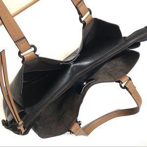 Nicole Miller Bags - Nicole Miller Black Leather Shoulder Bag